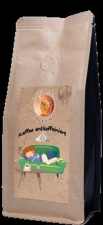 Kaffee entkoffeiniert aus Peru Bio